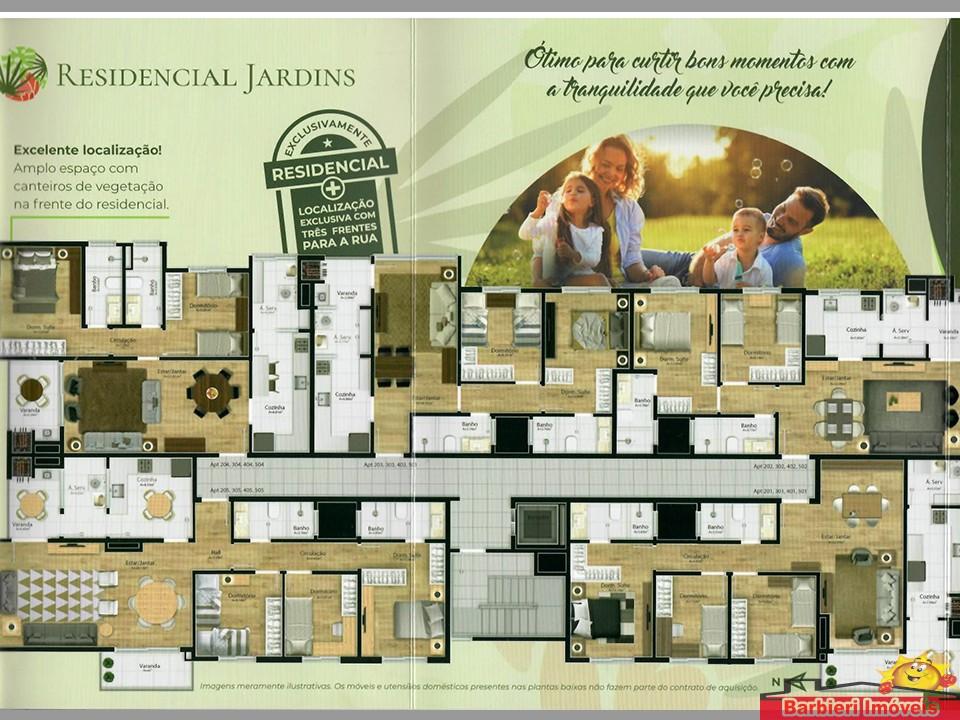 Apartamento 203 Residencial Jardins