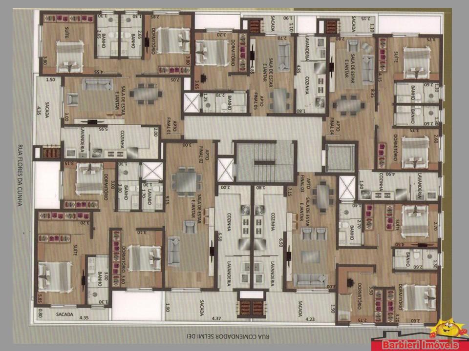 Apartamentos 03 dormitórios